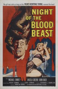 night of the blood beast - poster